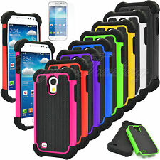 Heavy Duty Impact Hybrid Hard Case Cover for Samsung Galaxy S4 Mini i9190 i9195