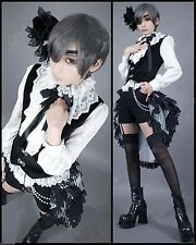 Black Butler Costume Cosplay Kuroshitsuji Ciel Dress Women Lolita Outfit