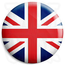 Union Jack Flag - Button Badge - 25mm British Mod Badges, Fridge Magnet Option