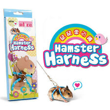 Adjustable Harness Leash Hamster Rat Mouse Squirrel Glider Small Animal CA SK