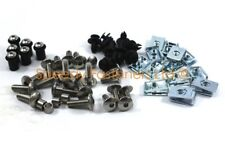 Honda CBR 600 900 1000 RR Fireblade Fairing Bolts Screen Stainless Bolt Clip Kit