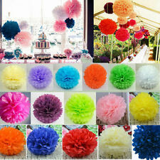 Lovely Tissue Paper Pom Poms Flowers Wedding Birthday Party DIY Decorations