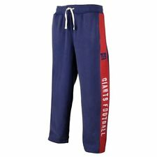 New York Giants MENS Fleece Sweat Pants Sweatpants Royal/Red