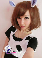 2014 New Fashion Women Lady Short straight Hair Full Wigs Cosplay Wigs Party