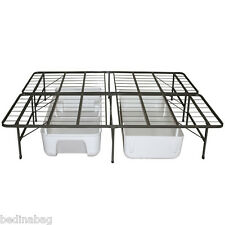 Steel Base Bed Frame Twin Full Queen King Size Bed Foundation NEW