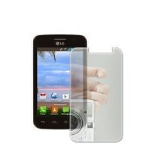 Mirror LCD Screen Protector Cover Guard for LG Optimus Dynamic II 2 L39C