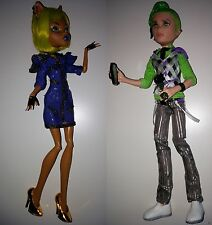 Monster High Puppen Dawn of the Dance Mitternachtsparty Deuce Lagoona Ghoulia