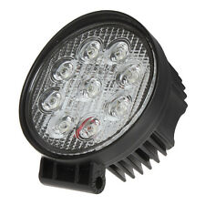 27W Round 30 Degrees Tractor Truck Offroad LED Work Light - Spotlight/Floodlight