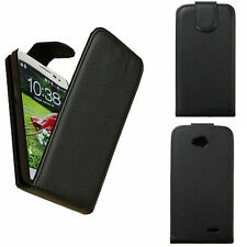 Black Slim Magnetic Flip Leather Hard Cover Case For LG Optimus L90/ L70/ LG G3