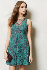 NIP $298 Anthropologie Arabesque Dress By Yoana Baraschi 6 or 8