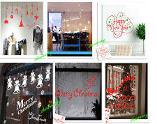 Wholesale Merry Christmas Wall Window Decals Stickers Home Store Decro Free Ship