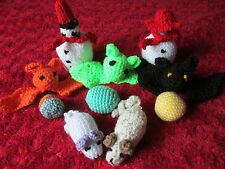 CRAZY HAND MADE WOOLLY CAT TOYS - CATS LOVE THEM!! FOR GREYHOUND RESCUE