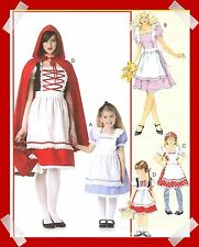 Alice in Wonderland Red RidingHood costume toSew PATTERN McCalls 6187 Goldilocks