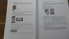 Printed iPHONE 4S  INSTRUCTIONS USER GUIDE MANUAL FULL COLOUR A4 or A5