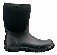 Bogs Classic MID Height Black Wellington Boots  -40˚C Mens Neoprene Warm Wellies