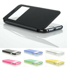 Ultra Slim Flip Cover Case with View Window for Apple iPhone 6 Plus - 5.5 inch
