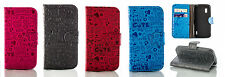 Cute ABC Love wallet flip cover pouch case with stand for LG Google Nexus 4 E960
