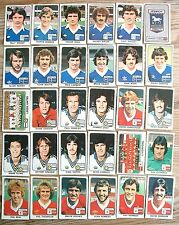 PANINI FOOTBALL 79 LEEDS UTD CHELSEA EVERTON LIVERPOOL DERBY COVENTRY IPSWICH
