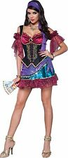 Sexy Adult Halloween InCharacter Flirty Fortune Teller Gypsy Costume