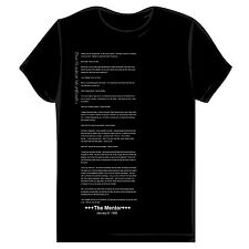 Hackers Manifesto T-shirt - Unique, Stylish Design - anonymous, geek, nerd