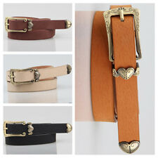 Fashion Women's Lady Faux Leather Skinny Thin Waist Belt Waistband Strap YD41