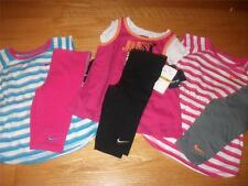 NIKE SUMMER 2 PIECE BIKE SHORTS OUTFIT FOR GIRL SIZE 4, 6, OR 6X NWT