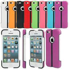New Anti-scratch Waterproof PC + Silicone Foldable Protective Case for iPhone 5C