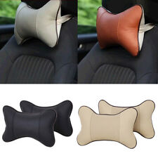 2 PCS Breathe Car Auto Seat Head Neck Rest Cushion Headrest Pillow Pad 4 Colors