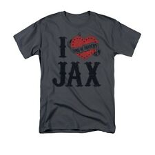 SONS OF ANARCHY I HEART JAX Officially Licensed Men's Graphic Tee Shirt SM-3XL