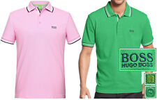 NWT Hugo Boss Green Label by Hugo Boss LOGO Cotton-Piqué Polo Shirt