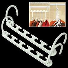 MULTI FUNCTION​ SPACE SAVING CLOSET ORGANIZER MAGIC WONDER CLOTHES HANGERS RACK