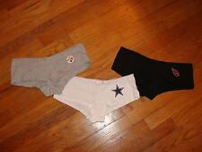 NFL Womans Boyshort Underware Panties SEXY cotton CHOOSE Color, Team & Size NEW