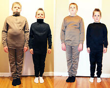 Kids Cold Weather Thermal Underwear Polypropylene S, M, L, XL Long Sleeve