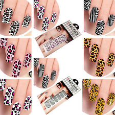 New Nail Art Foils Stickers Decoration For in Leopard Print Design 12 Style