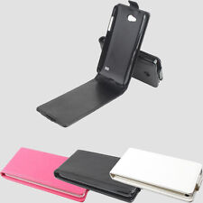 """New PU Leather Protective Skin Cover Case For 4.5"""" ZTE V956 Smartphone"""