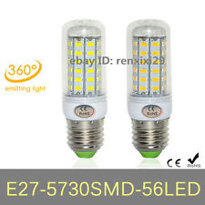 Energy Efficient 15W E27 5730SMD 56LEDs LED Corn Bulbs LED Lamps AC110V/220​