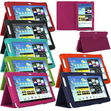 "Samsung Galaxy Note 10.1 "" Inch N8000 N8010 PU Leather Smart Stand Case Cover"