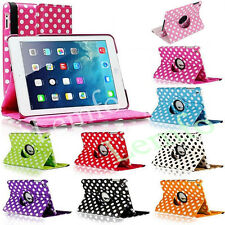 New 360° Rotating Flip PU Leather Stand Case Cover For iPad 2 3 4 5 Air Mini