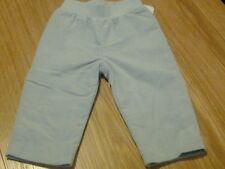 BOYS DESIGNER PALE BLUE LINED CORD TROUSERS ~~ AGE 6/12/18/24/36/48 MTHS