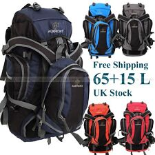 New Extra Large 80L Travel Hiking Camping Festival Luggage Rucksack Backpack Bag