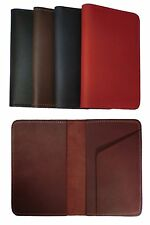 Handcrafted Genuine Leather Top Stub Checkbook Cover Wallet for Top Stub Checks