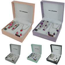 Watch Gift Set Complete Ladies Womens Christmas Set Necklace Earrings Bracelet