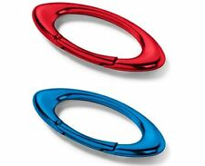 Oakley Small Ellipse Carabiner Square O Aluminum Alloy Car Keychain Ring Lanyard