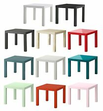 Ikea Lack Side Table Coffee,End Display Square Table Small Home Office 13 Colors