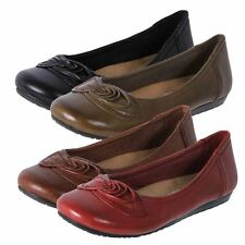 Planet Shoes Womens Leather Comfort Ballet Flat Shoes Tac On eBay Australia New