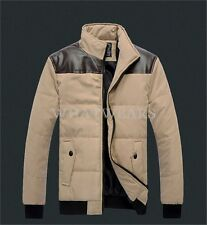 2014 Mens Slim Fit Sexy Top Designed Jacket Padded Warm Coat Casual Outwear GBW