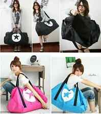 Super big Star bags Pentagram Casual Gym Duffle Bag Travel Luggage Carry-On Tote