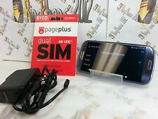Samsung Galaxy S3 SIII-I535-16GB-Blue(PagePlus 4G+SIM+Plan+Free ACTIVATION)RU01