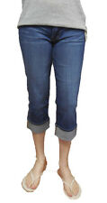 Lucky Brand Jeans Sweet'N Crop Denim Capri Medium Wash NWT