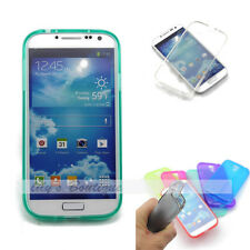 Glossy TPU Soft Silicone Gel Matte Cover Case Skin Shell for Galaxy S4 SIV i9500
